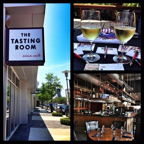 The Tasting Room! Definitely going to be back here for a wine tasting when I'm not working.