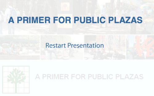 "A Primer for Public Plazas NYC.gov  The ""Primer on Plazas"" provides examples from existing plazas to show the types of elements that make a plaza successful and well-used. For more information on the specific components of the standards, view the Current Public Plaza Standards.  Privately Owned Public Spaces  Privately Owned Public Spaces, abbreviated as ""POPS"", are an amenity provided and maintained by a developer for public use, in exchange for additional floor area.  POPS typically contain functional and visual amenities such as tables, chairs and planting for the purpose of public use and enjoyment. Privately Owned Public Spaces are permitted in the City's high-density commercial and residential districts and are intended to provide light, air, breathing room and green space to ease the predominately hard-scaped character of the City's densest areas. Since 1961, the Zoning Resolution has allowed for several different types of privately owned public space, including plazas, arcades, urban plazas, residential plazas, sidewalk widenings, open air concourses, covered pedestrian spaces, through block arcades and sunken plazas. POPS are primarily procured through incentive zoning, however some POPS were created as part of a variance or special permit granted by the City Planning Commission or Board of Standards and Appeals.  The most popular and most visually apparent type of POPS are the outdoor spaces – plazas, residential plazas and urban plazas, sometimes called ""bonus plazas."" The provisions allowing for these outdoor spaces have evolved immensely since 1961; starting from very modest design requirements to more fine-tuned standards that require well-designed amenities that benefit the public.  In 2007, the New York City Council adopted revised standards for all outdoor POPS, representing a significant update to and consolidation of all previous plaza design regulations into one outdoor plaza designation – the ""public plaza"". The 2007 text is intended to facilitate the design and construction of unique and exciting outdoor spaces that are truly public. Since the adoption of the 2007 public plaza text, a follow-up text amendment was adopted by the City Council in June 2009, to clarify certain provisions in order to enhance the 2007 text. The Current public plaza provisions enable the creation of high quality public plazas on privately owned sites that are inviting, open, inviting, accessible and safe.  The current design regulations are guided by the following design principles:  Public Plaza Design Principles  Open and inviting at the sidewalk  Easily seen and read as open to the public Conveys openness through low design elements and generous paths leading into the plaza Visually interesting and contains seating Accessible  Enhances pedestrian circulation Located at the same elevation as the sidewalk Provides sense of safety and security  Contains easily accessible paths for ingress and egress Oriented and visually connected to the street Well-lit Provides places to sit  Accommodates a variety of well-designed, comfortable seating for small groups and individuals"