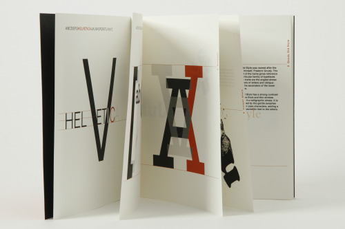 lbamber:  Book Design Anatomy of Six Typefaces