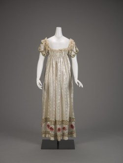 historicalfashion:  Evening Dress (French) | IMA | ca. 1815