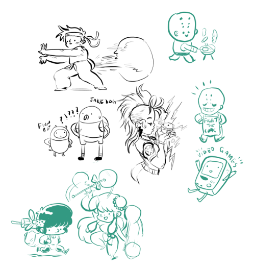 Drawings from tonight's Draw Friends!