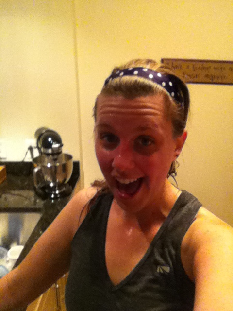 Awesome sweaty happy run his morning. Looking forward to my weekend of cross training!  How was your run this am?
