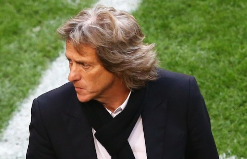 Jorge Jesus was downhearted after a late Branislav Ivanovic header denied his side Europa League glory.
