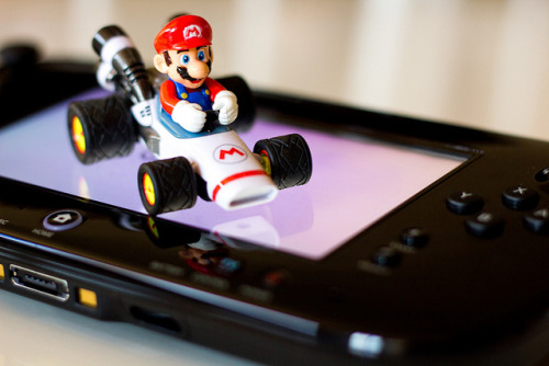 geekylifestyle:  Mario Kart U by FaruSantos on Flickr.