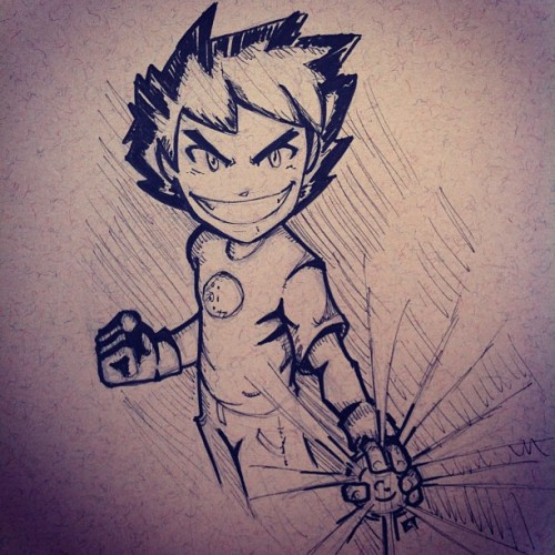 It's #negascott.  #scottpilgrim #scottpilgrimvstheworld #drawings #sketch #art