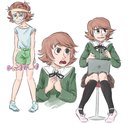 good morning have some quick chihiro doodlies