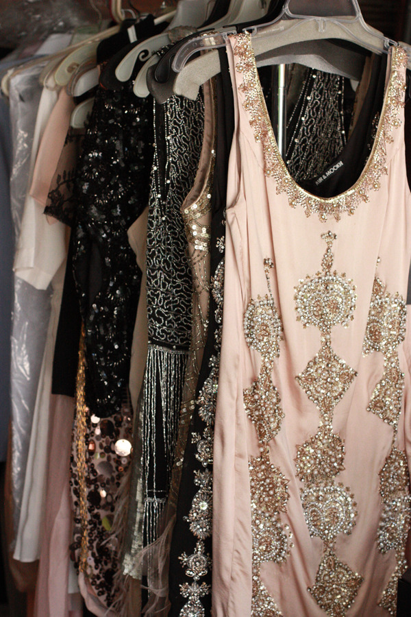 Beautiful dresses.