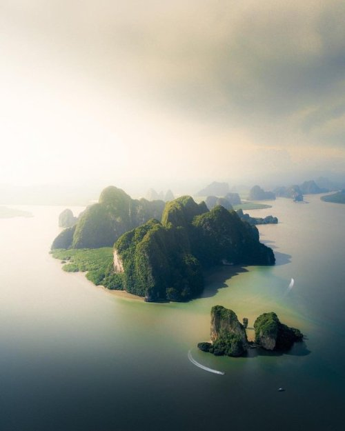 different-landscapes - Phang Nga Bay, Thailand Photography by...