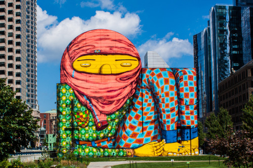 heysmashley:  Os Gêmeos, Dewey Square, Boston