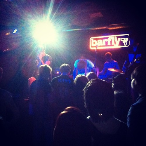 #oceansatealaska are tearing the Camden Barfly a new one. #wearefiction #attackattack! #tour