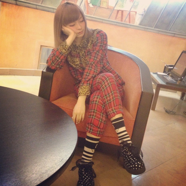 whatjapanswearing:  Kyary fashion  Kyary was wearing plaid one of the first times we street snapped her back in 2009.
