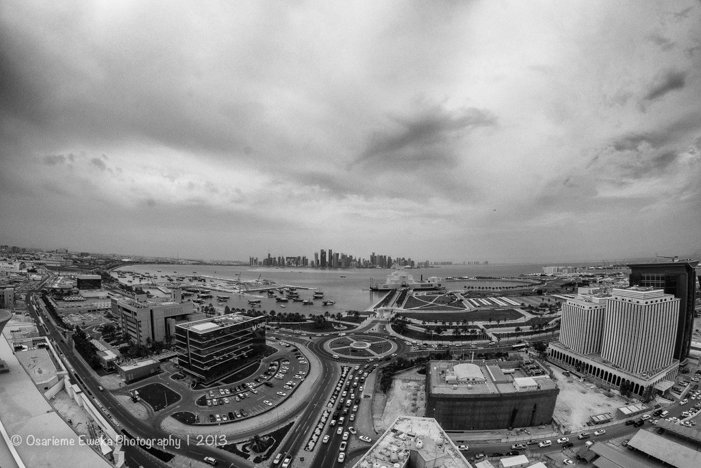 Doha by Osarieme Eweka and contributed to the Doha News Flick Group. A view to remember… Want to see your photo here? Add it to our Flickr pool or share it via dohanews.co/submit