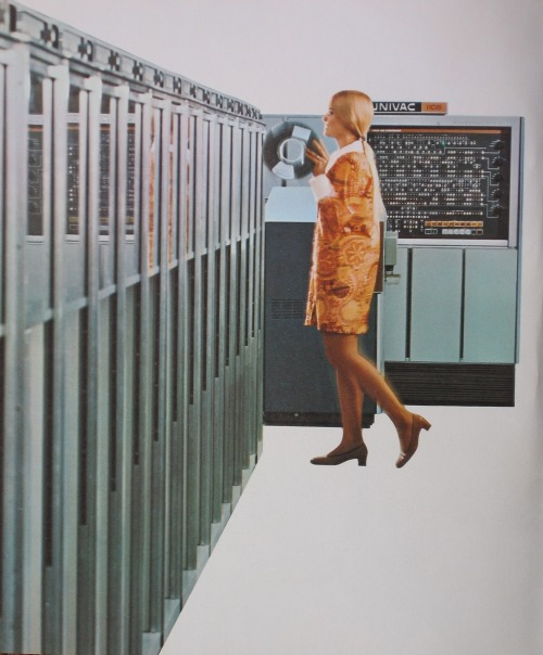 johnclaudielectronics:  Univac 1108 Magnetic Data Storage Via