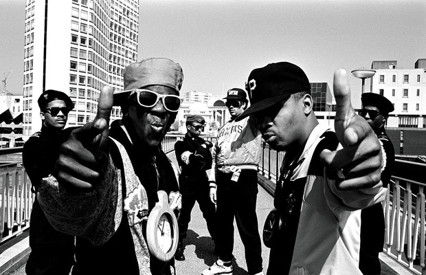 hype-hop:  Public Enemy