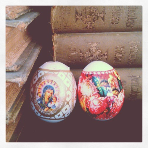 eggs from Russia #egg #russia #oldbooks