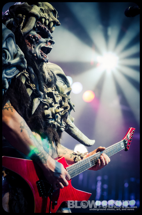 Gwar live at Philadelphia's Electric Factory.  More exclusive photos at Blow The Scene.