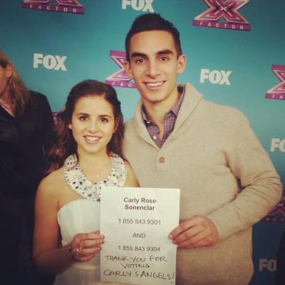 ifihadachoice:  VOTE for Carly Rose Sonenclar! Call 1-855-843-9301 or 9304, or text the word VOTE to 9301 (Verizon) or VOTE ONLINE!