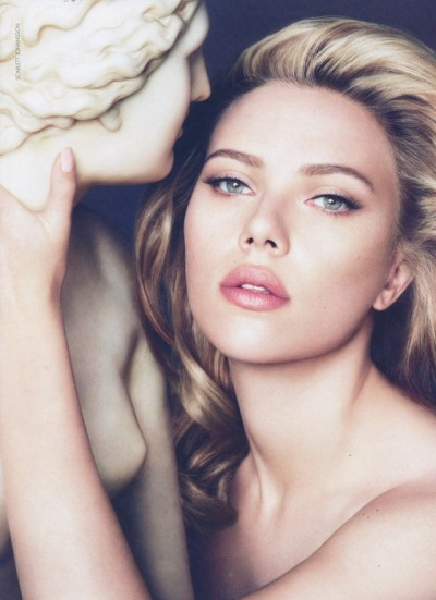 suicideblonde:  Scarlett Johansson for Dolce and Gabbana