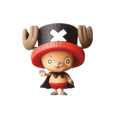 onepiecetoys:  One Piece Chopper Man Excellent Model Portrait Of Pirates Limited Edition Sushi Express figure, exclusive to Sushi Express Restaurants. You get the figure for free when you spend a total of 500 CNY (¥8320) or 2 when you spend 1000 CNY.  WHAT. I could eat sushi for One Piece figures all day long. Someone get me to Japan.