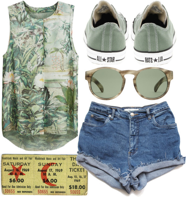 lake by sweetnovember19 featuring highwaisted shorts