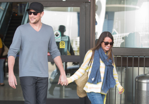 Cory Monteith and Lea Michele bring their love back to LA!