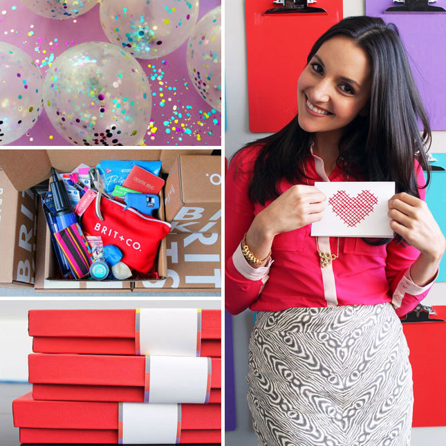 Does your Valentine love to make stuff? Give them an extra dose of creative inspiration by giving the gift of Brit Kits!
