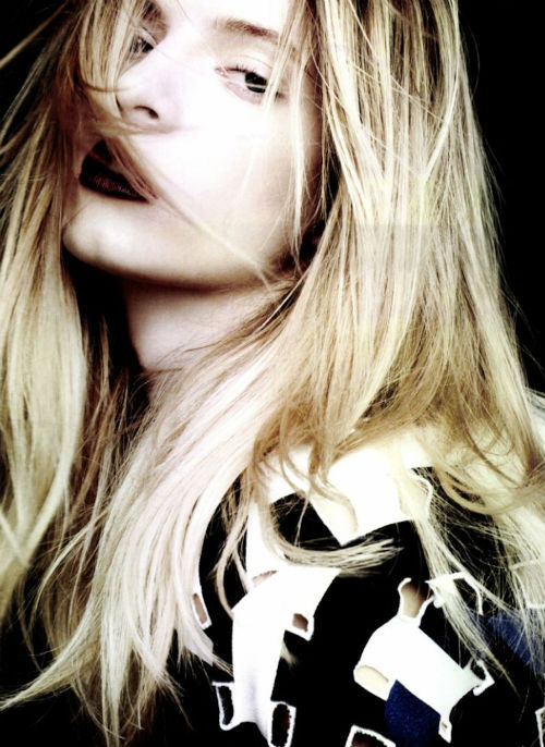 """dans le vent"": daria strokous for numero #129 dec 2011. photographed by ben hassett"