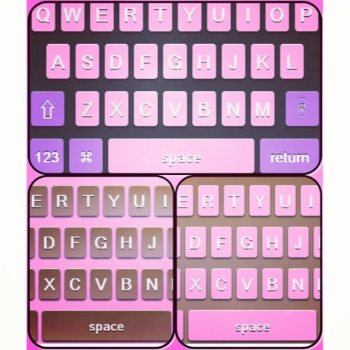 New free colorkeyboards at jailbreakthemes.com #jbthemes #jailbreak #jailbreakthemes #evasi0n #cydia #winterboard #themes