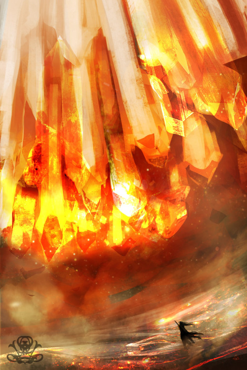 moralitea:  Crystal Fire by ~legendary-memory