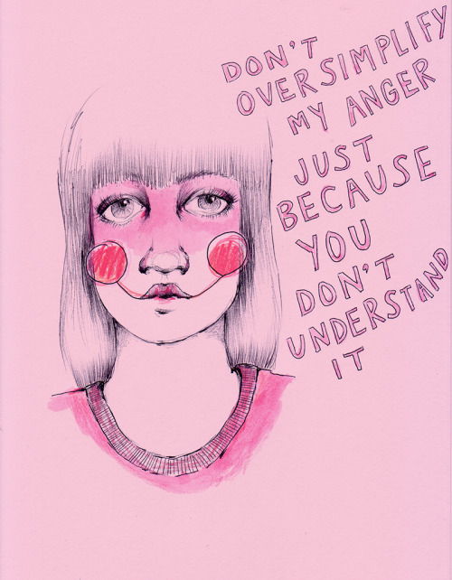 "ambivalentlyyours:  ""…the expression of rage in women, in both art and in life, is still unacceptable."" -Judy Chicago"