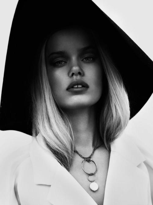 timeless-couture:  Frida Aasen photographed by Jonas Bresnan for Numéro Tokyo March 2013