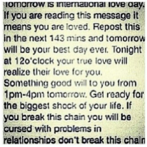 #truelove #love #doit #dontbreakthechain #repost #tomorrow