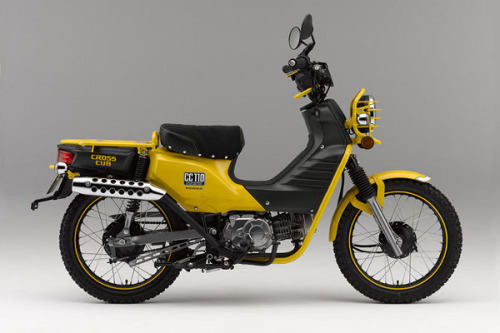 scoothub:  hot off the press from scooterfile, a terrific site devoted to scooters, with articles from multiple authors: honda introduced it's latest concept bike, the cross cub 110. it's just a concept vehicle, but i'm pretty sure i'm ready to trade in my scooter for this right now.