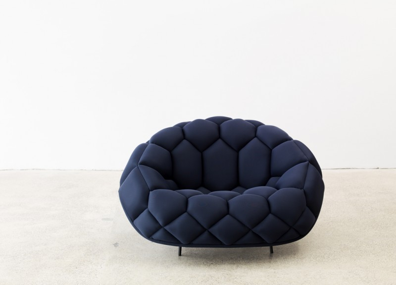 cutesign:  Quilt sofa and armchair, by Ronan & Erwan Bouroullec. ❥cutesign
