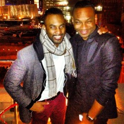 Clowning w/@RonnRich at his BDay party at @WHotels/@WHotelsNYC #Downtown #WallSt edition #NY (at Living Room Bar & Terrace @ W New York - Downtown)