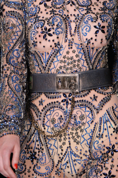 girlannachronism:  Jean Paul Gaultier fall 2012 couture details