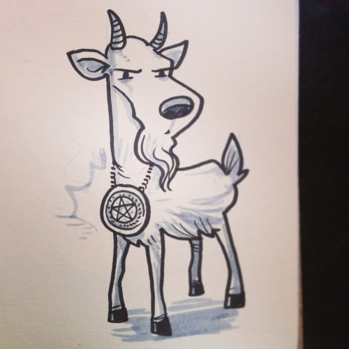 Goat - Occult Talisman for @LeeCherolis