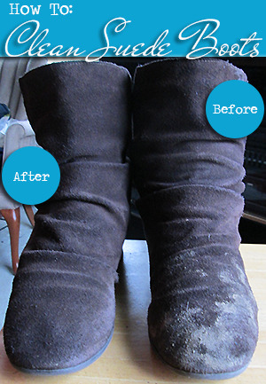 How To: Clean Suede BootsA few weeks ago, I made the mistake of wearing my suede Sam & Libby boots out after it had rained.…View Post