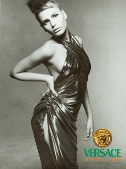 Bridget for Versace, by Richard Avedon, 1994