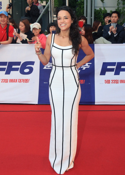 verysherry:  Michelle Rodriguez || 'Fast & Furious 6' Seoul, South Korea Premiere on May 13, 2013