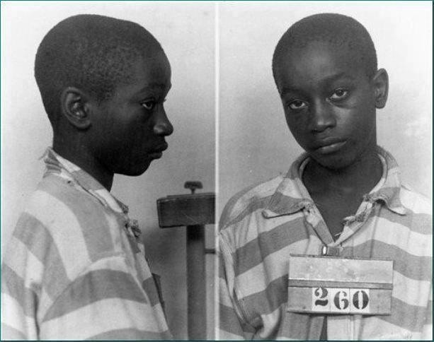 girl-in-flux:  youurlove:  Junius Stinney was the youngest person in America to be executed on death row in 1944 at age 14. He was quickly accused by the (white police) of 'killing' two little (white girls) with lack of evidence. His conviction and sentencing opened and closed in one day. There were no witnesses called and there was no transcript of the trial details and black people were not allowed inside the courtroom during that time. [I always repost this because i don't want anyone to forget about him!]  look at his eyes….. he's just given up completely. This is awful. I hope his soul is at rest, even now.