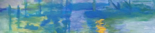 detailedart:Claude Monet, Edouard Manet and… seas. Purple and blue… seas.