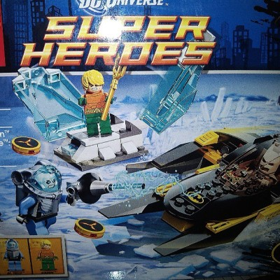 Finally a #lego set with #aquaman Woohoo #batman #mrfreeze #dc #dcuniverse #legosuperheroes #legoig #minifig #instagood #instalego #brickcentral #dccomics  (at Greenbelt 2)