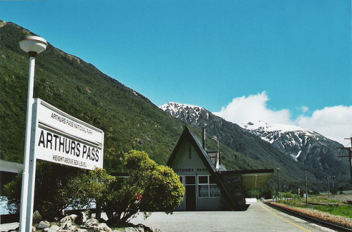Arthurs Pass by Jazzerton on Flickr.