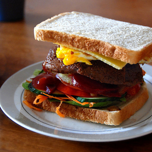 Steak Sarnie… by FreakyNami on Flickr.