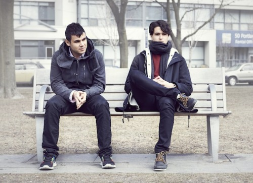 fullmetalparka:  Rostam Batmanglij and Ezra Koenig - Photo by Matt Barnes/The Grid