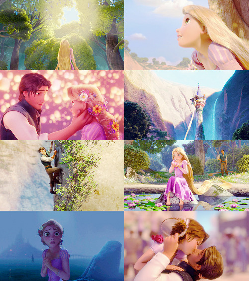 This is the story of a girl named Rapunzel.