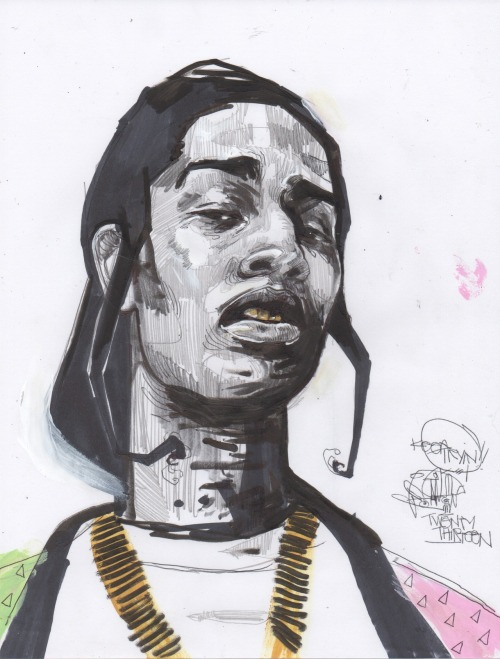 A$AP Rocky By Terby Wonder Follow Terby at terbywonder.tumblr.com.