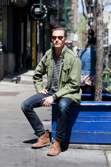 details:  Street Style: The Army-Surplus Jacket