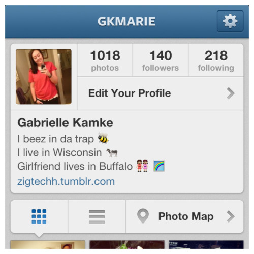 Follow me on Instagram.   I follow back! :D   gkmarie
